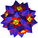 Compound of 30 Octahedron